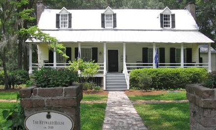 Tour of Heyward House in Bluffton, SC (58139)