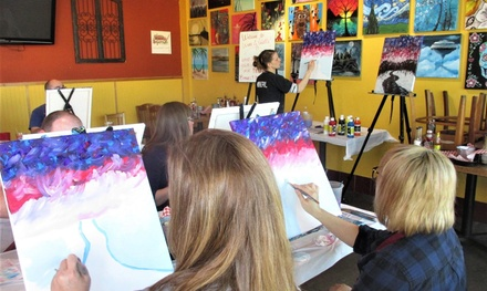 Wine and Paint Class in Midwest City, OK (3946786)